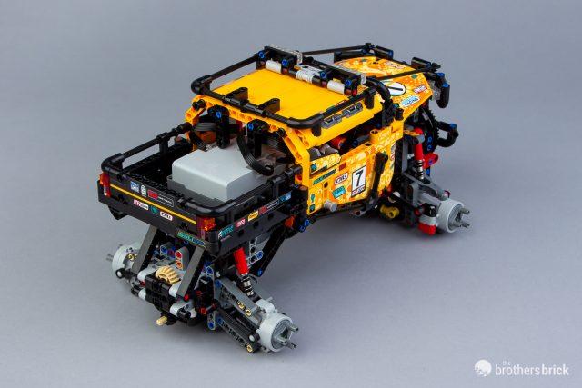 A little dirt never hurt: LEGO Technic 42099 4x4 X-treme Off
