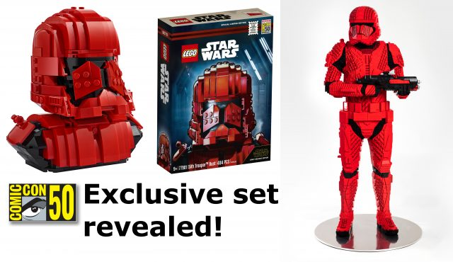 LEGO Star Wars SDCC exclusive Sith Trooper set and life-size model revealed [News]