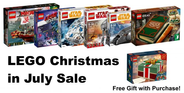 LEGO Shop at Home US Christmas in July deals now live [News]