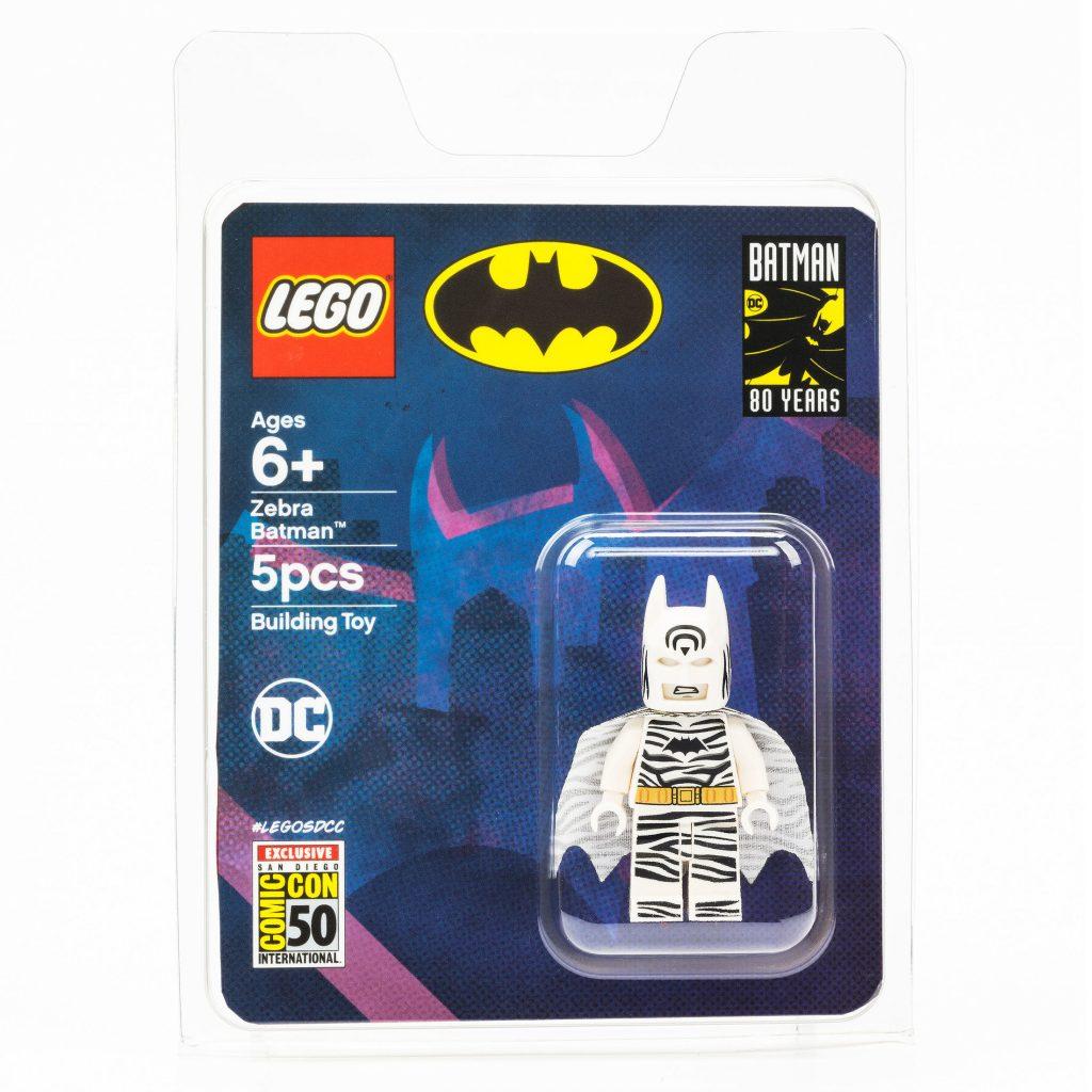 Zebra Batman revealed as Diego Comic-Con 2019 LEGO DC Exclusive Minifigure [News]