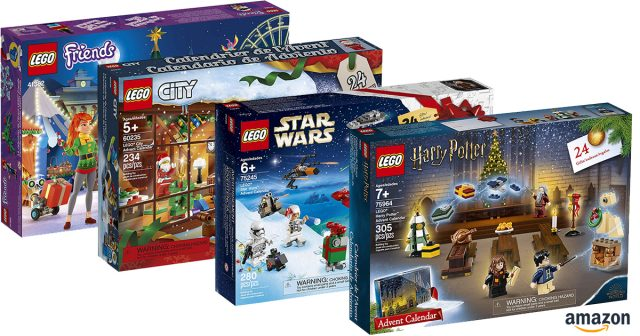 Lego Friends Christmas Sets.Lego Advent Calendar 2019 Revealed And Available For Pre