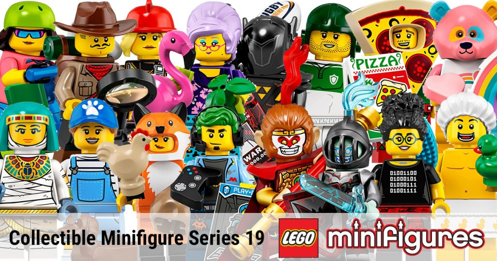 LEGO Minifigures Archives | The Brothers Brick | The Brothers Brick