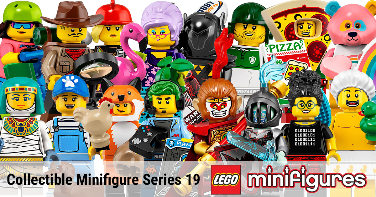 LEGO Collectible Minifigure Series 19 revealed [News ...