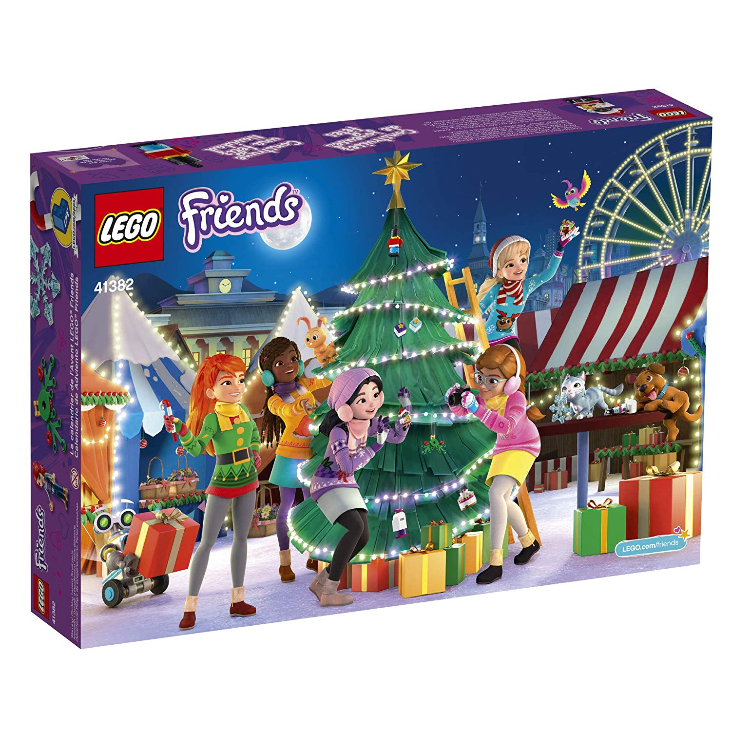 lego 41382 friends advent calendar 3 the brothers brick. Black Bedroom Furniture Sets. Home Design Ideas
