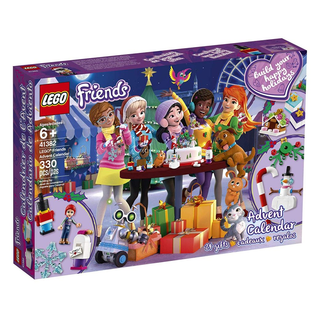 lego 41382 friends advent calendar 4 the brothers brick. Black Bedroom Furniture Sets. Home Design Ideas