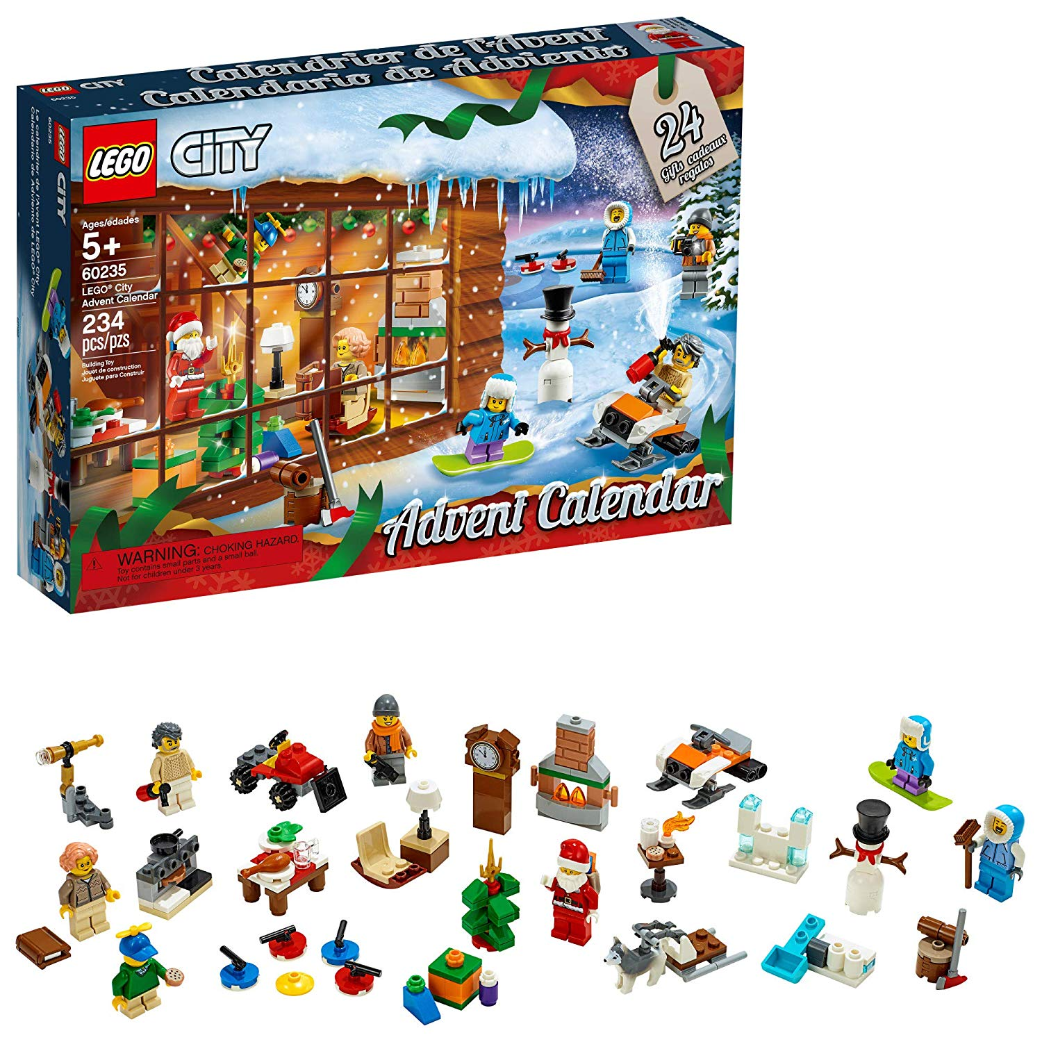 lego 60235 city advent calendar 6 the brothers brick. Black Bedroom Furniture Sets. Home Design Ideas