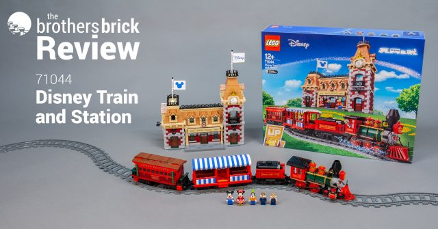 All aboard the new 3,000-piece Disneyland LEGO set, 71044