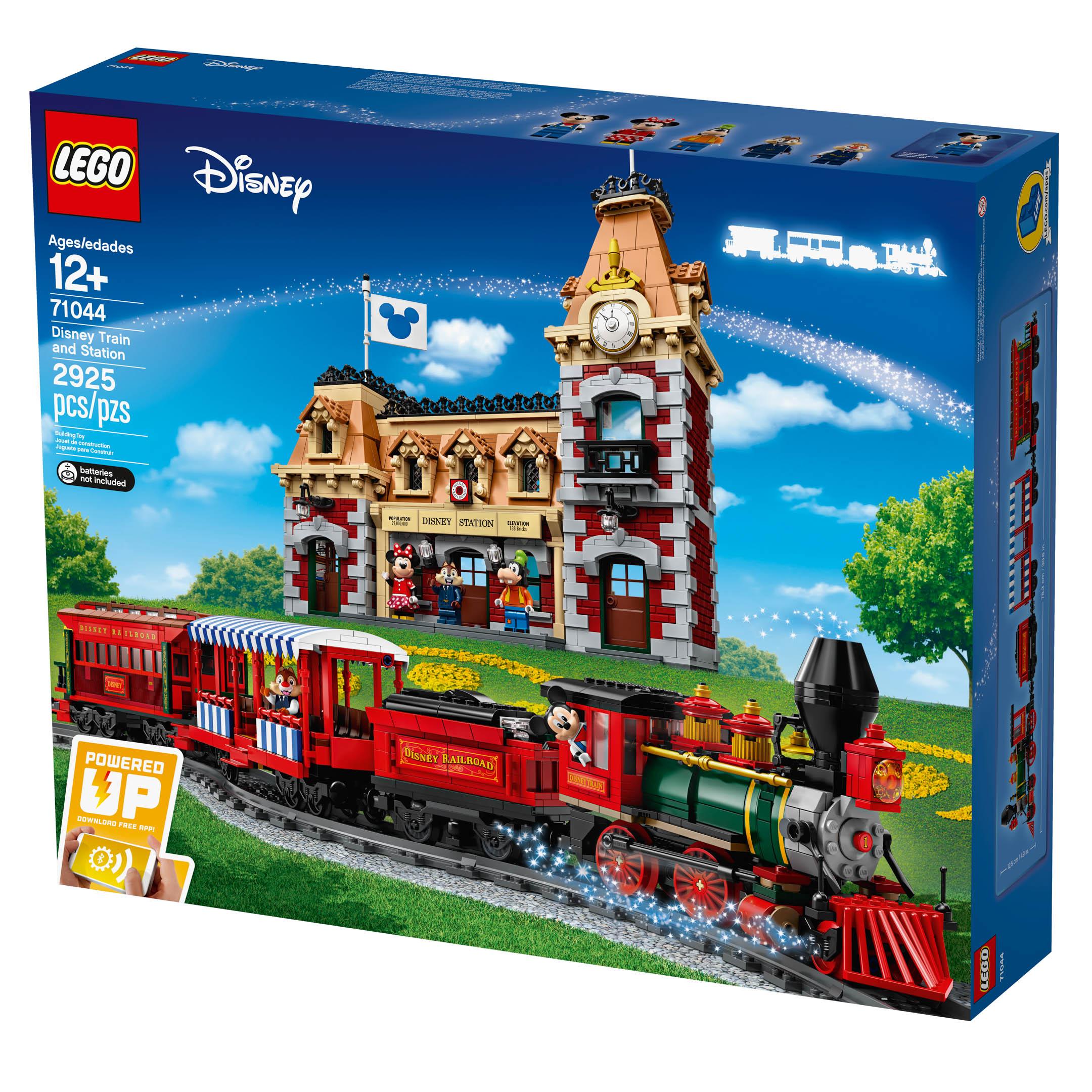 LEGO reveals massive new Disneyland Railroad set, 71044