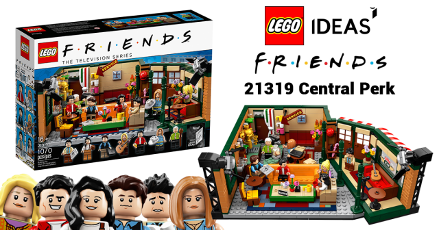 Take a sip of '90s pop-culture with the new LEGO Ideas 21319