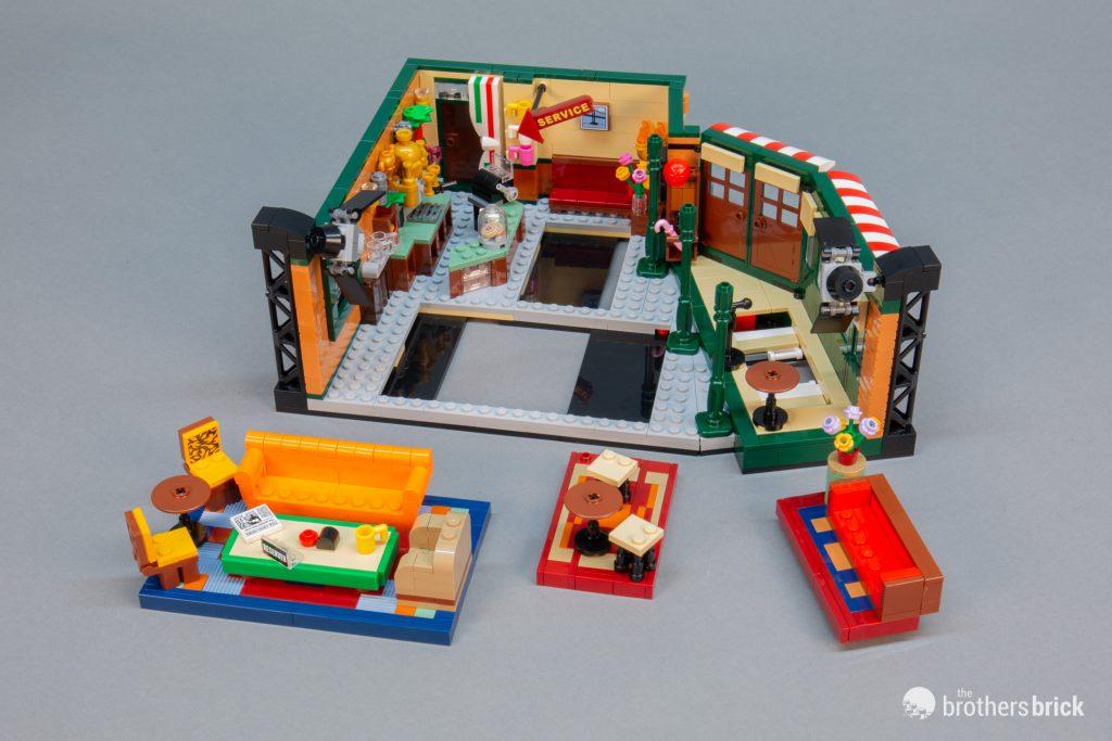 21319 f.r.i.e.n.d.s Central Perk Café LEGO Ideas