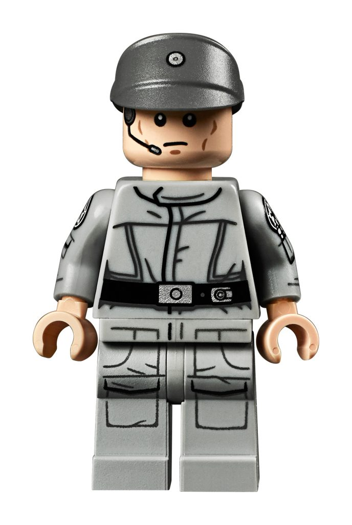 Lego Star Wars Imperial Officer 3 Pattern NEW