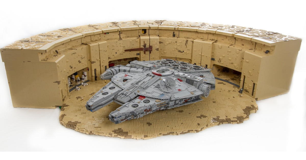 This massive LEGO Mos Eisley diorama has got it where it counts