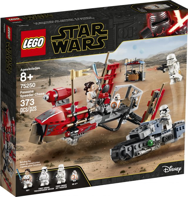 New Lego Star Wars Sets Announced For Rise Of Skywalker And