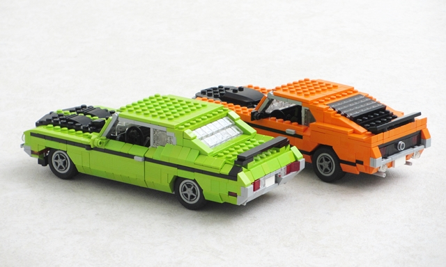 Buick GSX and Ford Mustang Boss 302 musclecars