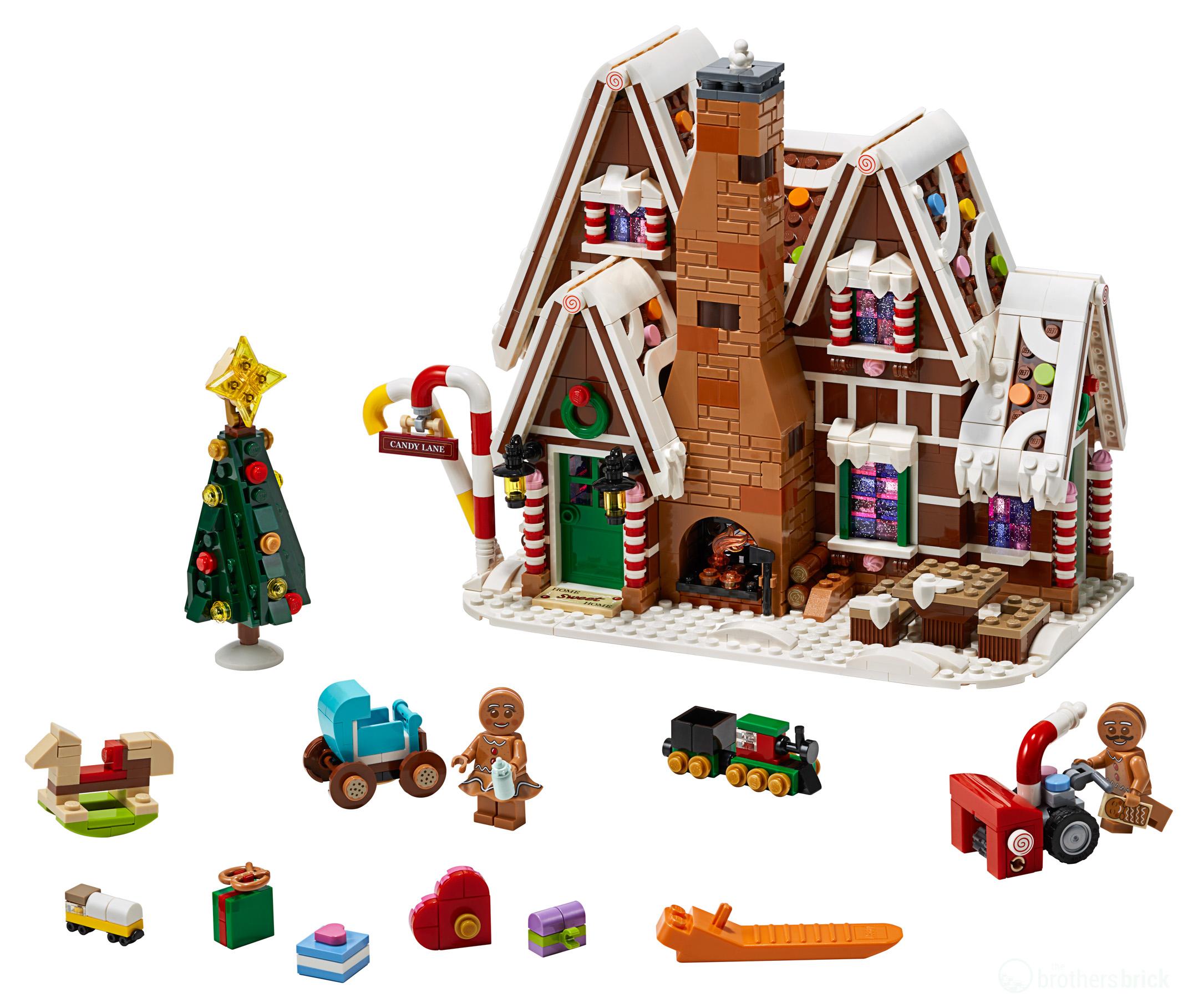 Lego Christmas Set 2019.Lego Celebrates 10 Years Of The Winter Village With 10267