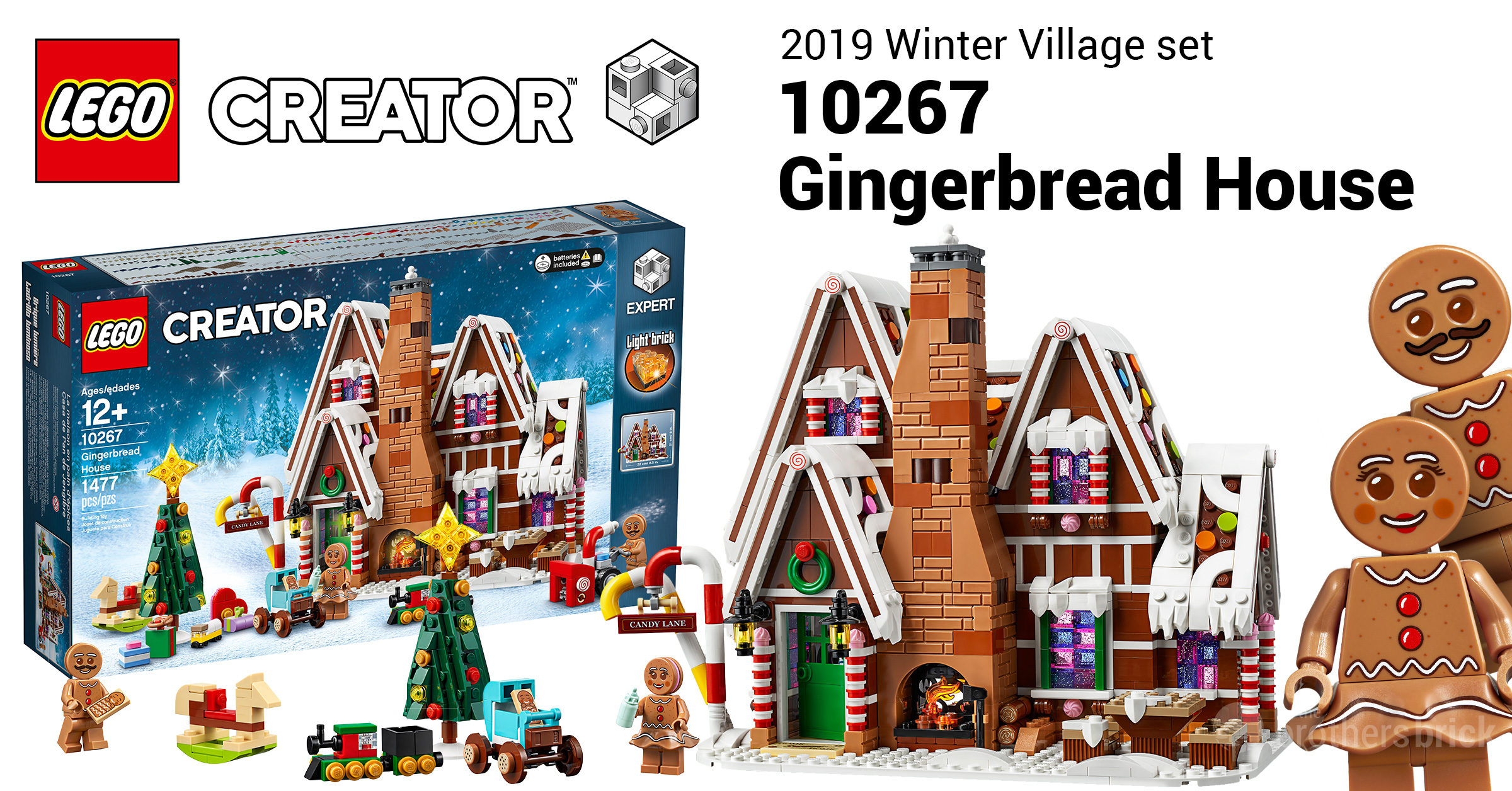 LEGO celebrates 10 years of the Winter Village with 10267 Gingerbread House [News]