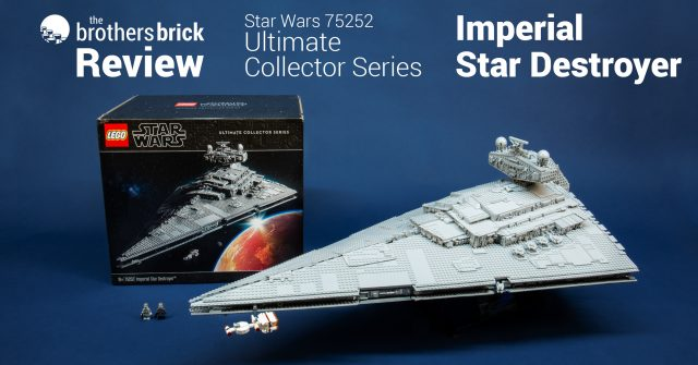 Lego Star Wars 75252 Ultimate Collector Series Imperial Star