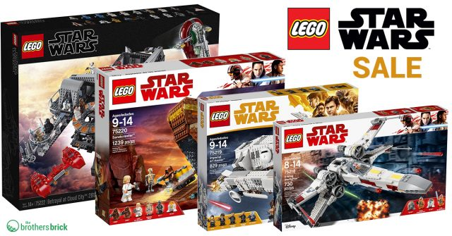 Up To 40 Off Various Lego Star Wars Sets On Amazon