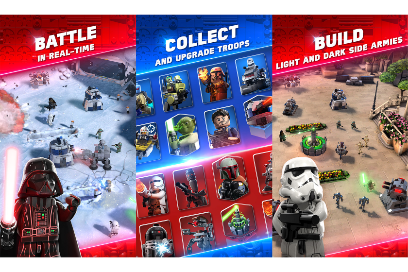 Lego Announces New Star Wars Mobile Game Star Wars Battles News The Brothers Brick The Brothers Brick