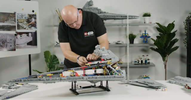 Secrets of the new LEGO Star Wars UCS Imperial Star