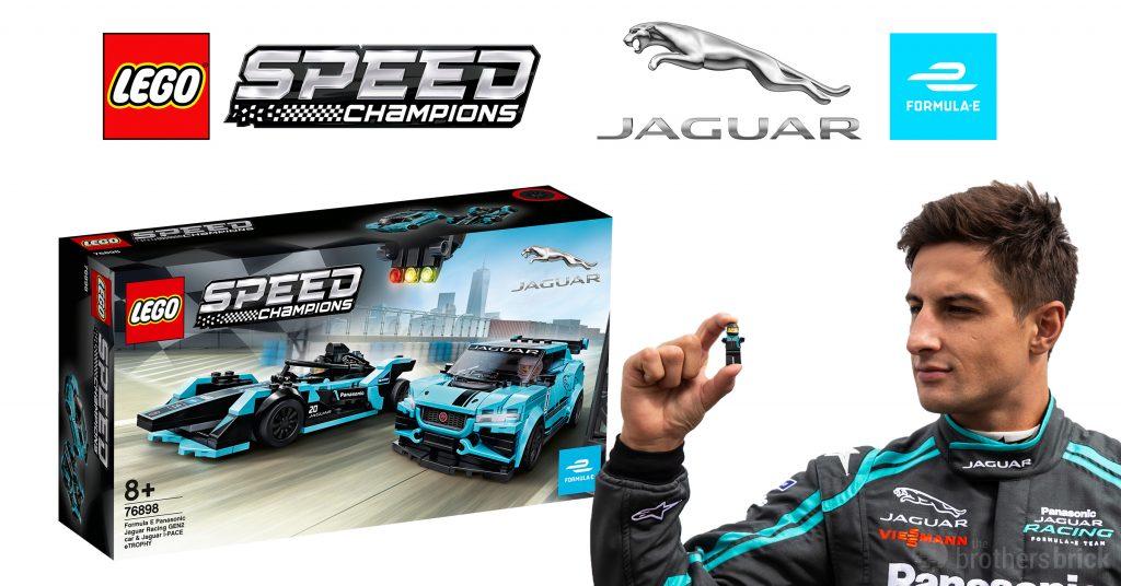 lego adds jaguar formula e and i