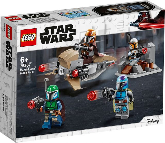 New Lego Star Wars Mandalorian Battle Pack To Hit Stores
