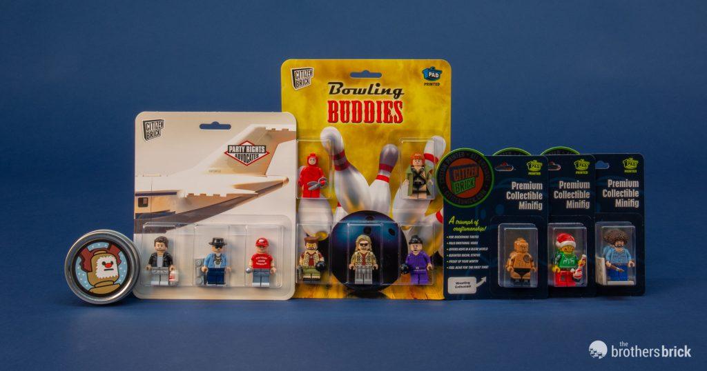Reindeer Custom Lego Figure Brand New!