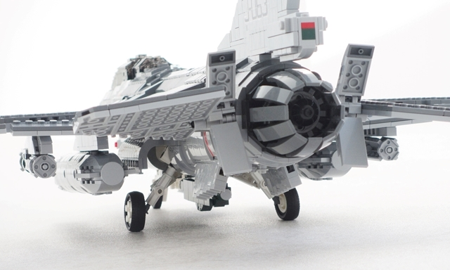 F-16 jet exhaust | The Brothers Brick | The Brothers Brick