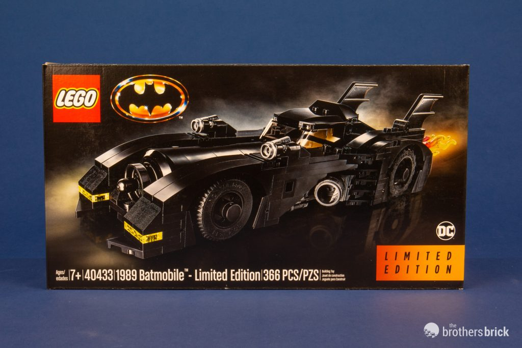 1989 BATMAN car set BATMOBILE brick block DC Super Hero 40433 Justice League JLA