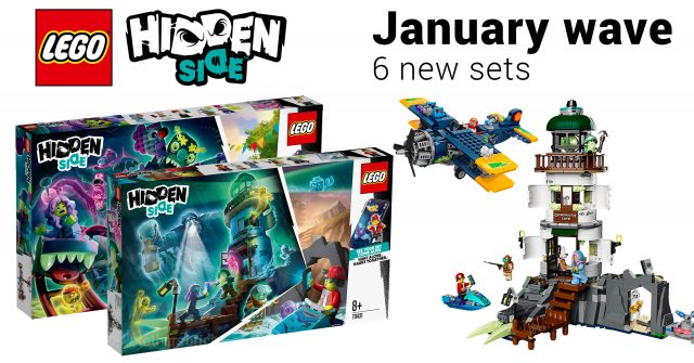 Lego Games 2020.The 6 New Lego Hidden Side Sets For 2020 Include A Haunted