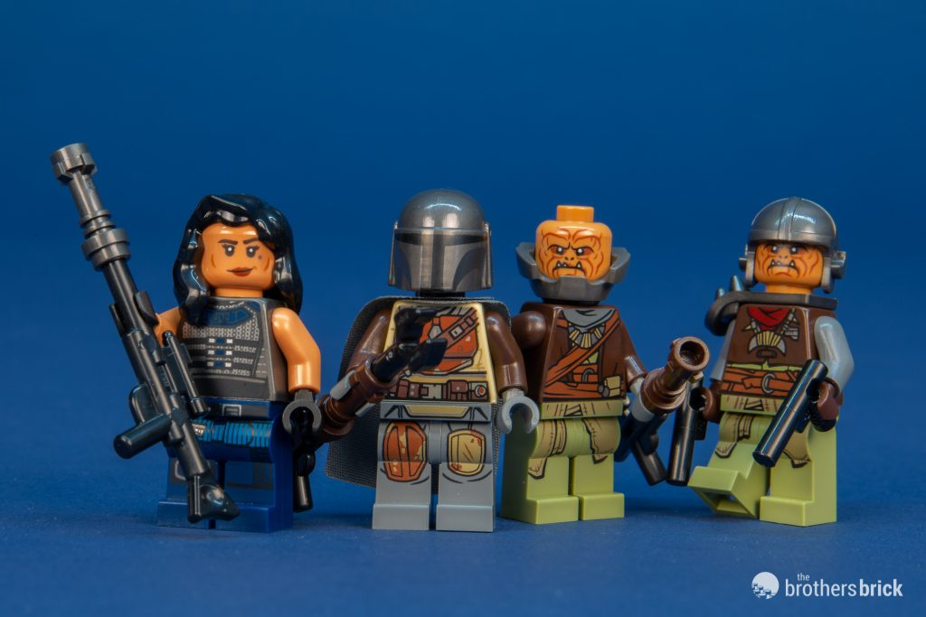 LEGO Star Wars Klatooinian Raider Armor Minifigure The Mandalorian 75254 Weapon