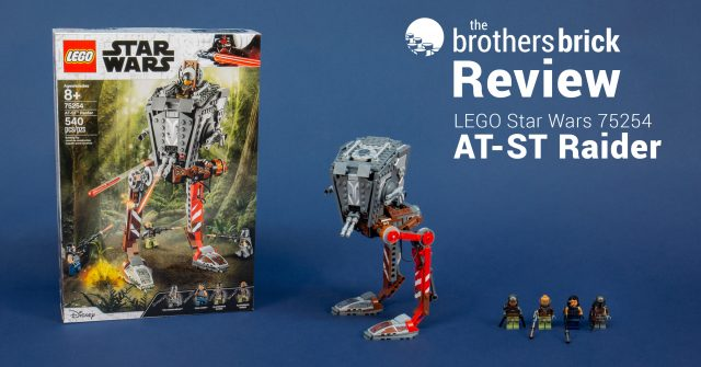 Lego Star Wars 75254 At St Raider From The Mandalorian No Spoiler Review The Brothers Brick The Brothers Brick