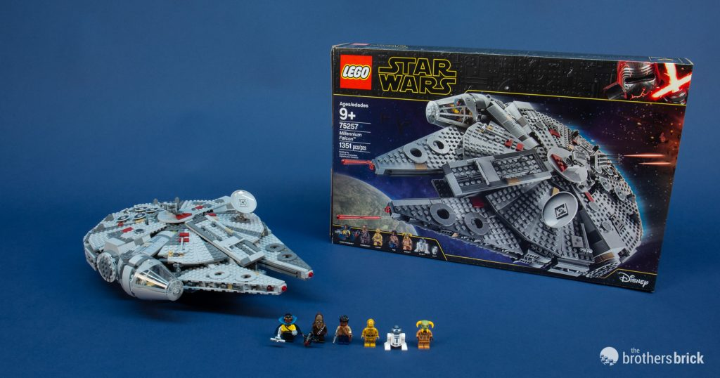FOR LEGO Star Wars Compatible The Rise of Skywalker Millennium Falcon 75257
