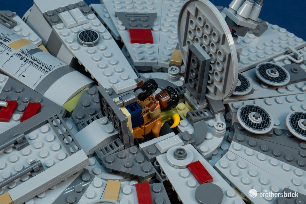 Lego Star Wars 75257 Millennium Falcon From The Rise Of Skywalker Review The Brothers Brick The Brothers Brick