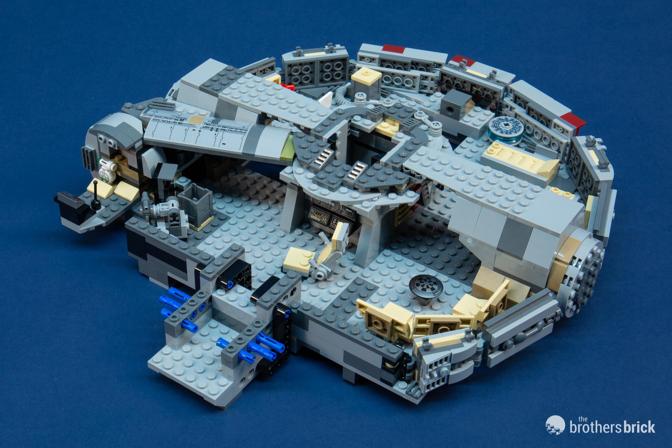 OVP /& BLITZVERSAND LEGO® Star Wars Millennium Falcon 75257 NEU