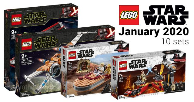 New Lego Sets 2020.10 Sets From The Lego Star Wars January 2020 Lineup Revealed
