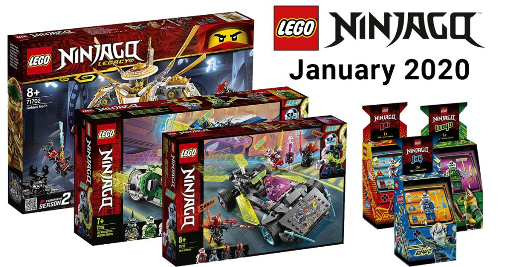 New Avatar Series 2020.Lego Ninjago 2020 Lineup Features New Vehicles Mechs And