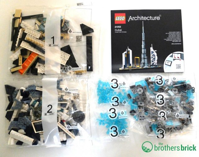 21052 LEGO Architecture Dubai Review