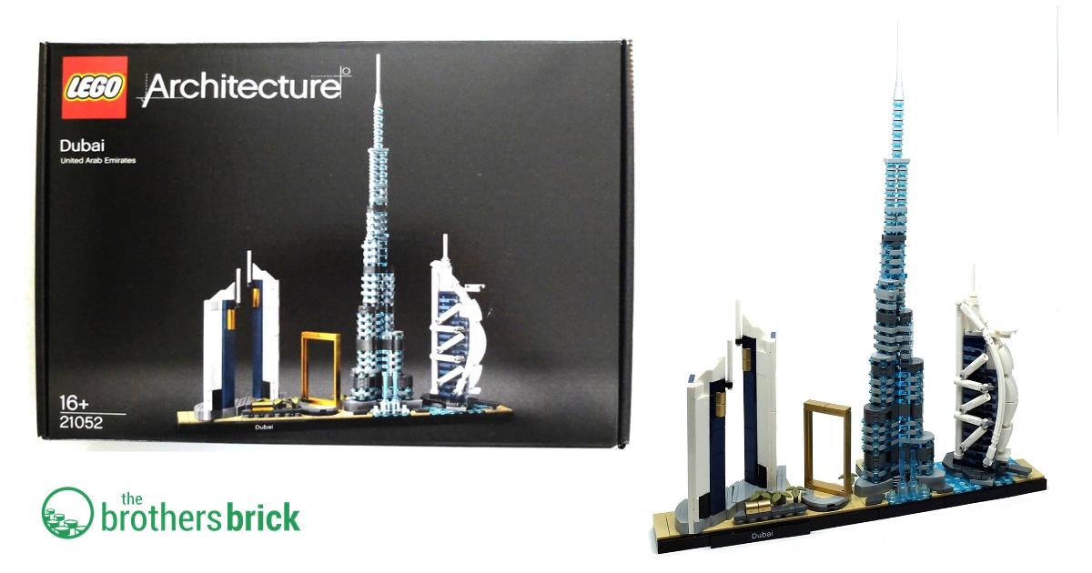 LEGO® Architecture 21052 Dubai NEU und OVP
