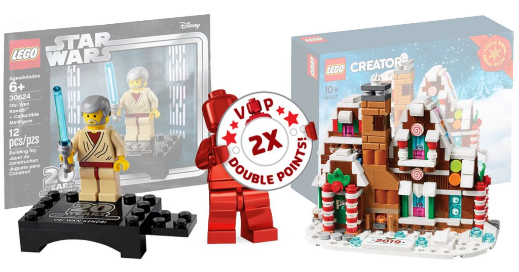 LEGO Exclusives Star Wars 20th Anniversary Obi Wan and Mini Gingerbread House now available with Double VIP points [News]