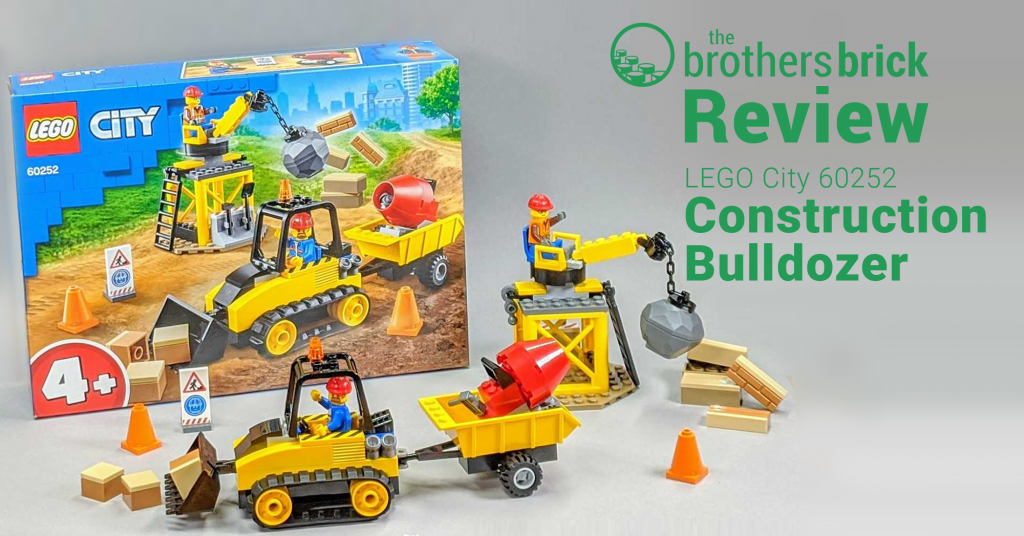 LEGO City 60252 - Construction Bulldozer