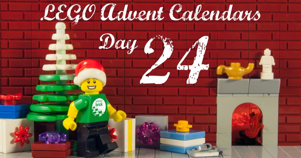 2019 lego advent calendars day 24 the brothers brick. Black Bedroom Furniture Sets. Home Design Ideas