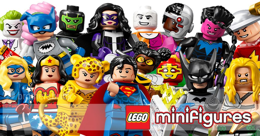 Lego New Huntress Batman Series 71026 Super Hero Girl Minifigure with Stand