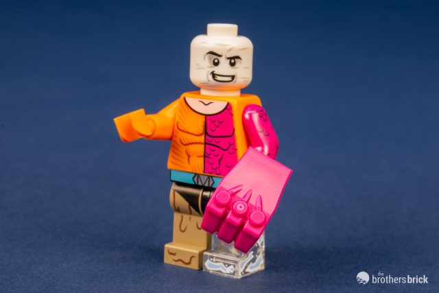 LEGO LOT OF 12 NEW FLESH COLORED HEADS BATMAN WHITE HAIR