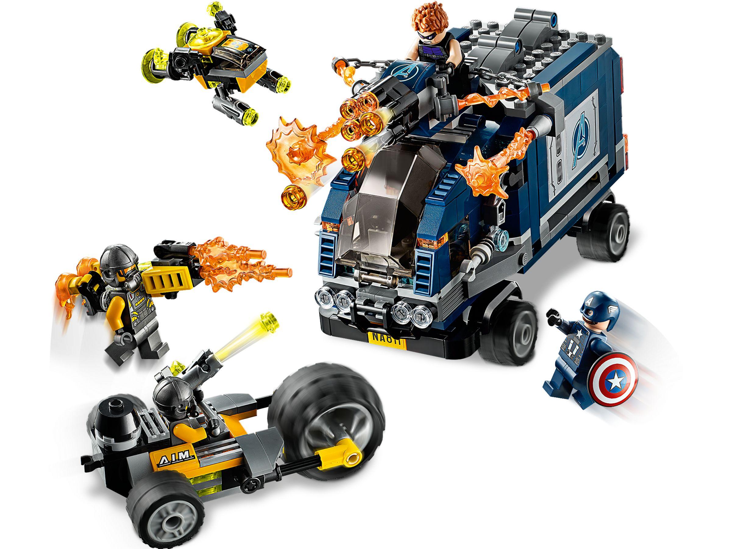 LEGO Marvel Avengers 76143 Avengers Truck Take-Down (3 ...