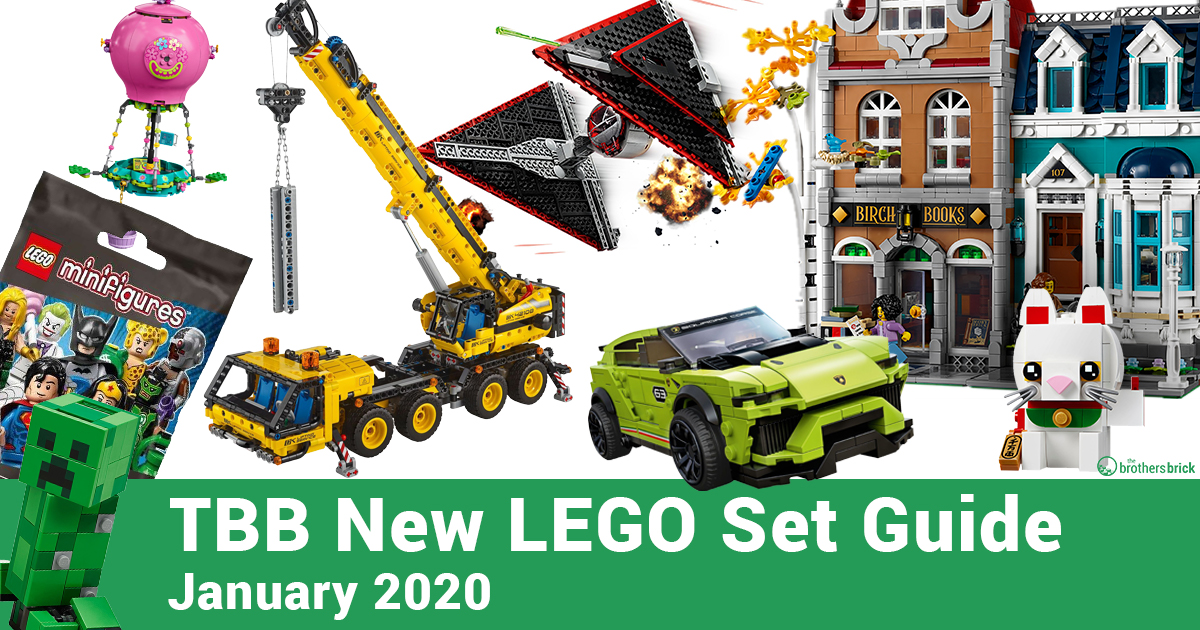 Your guide to 153 new LEGO sets now available for 2020, including City, Technic, Star Wars, Architecture and more [News]