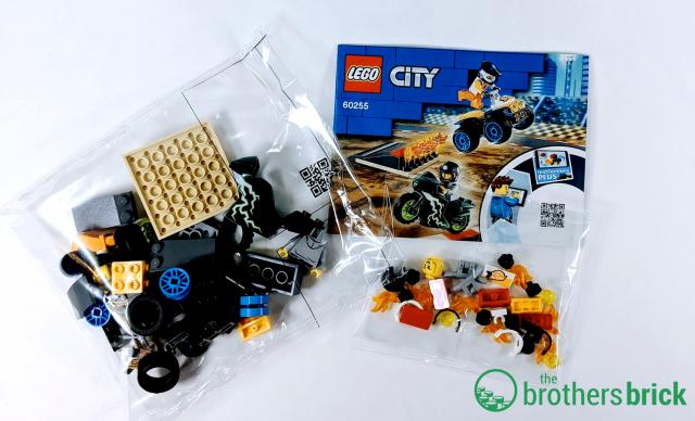 LEGO CITY 60255 - Box contents