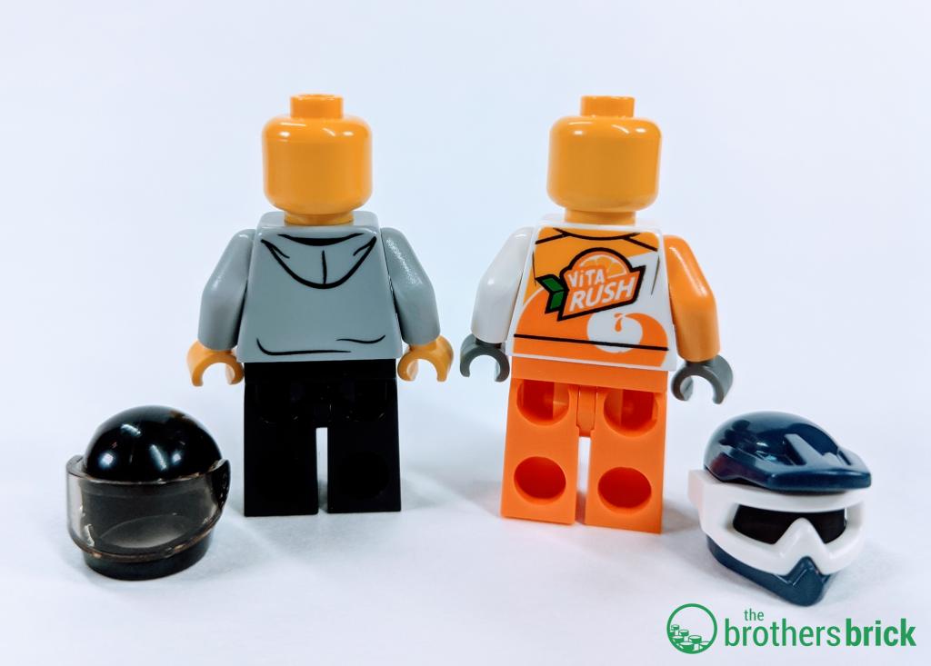 LEGO CITY 60255 - Figure backs