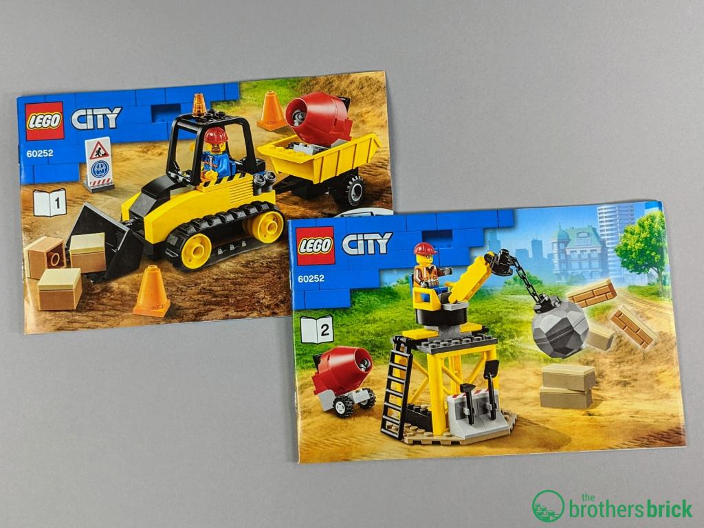 City 60252 - Instructions