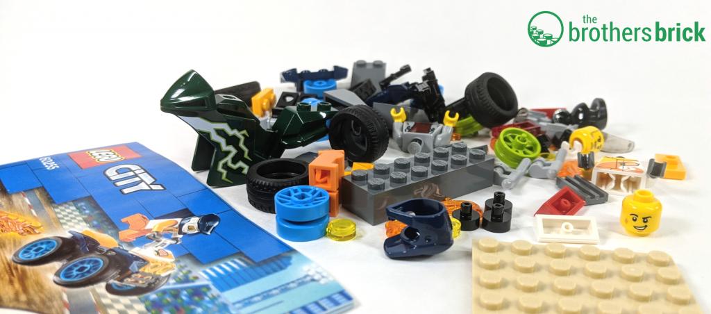 LEGO CITY 60255 - Loose parts